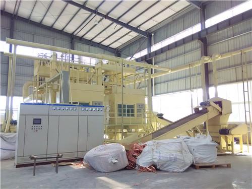废电路板破碎回收处理设备发往重庆