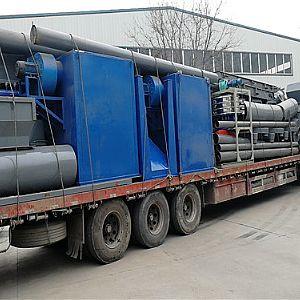 废旧锂电池回收处理设备发往河北石家庄