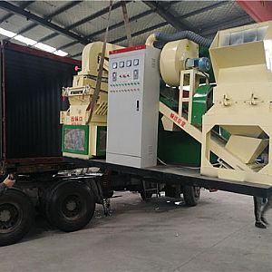 小型干式排列五和值走势图设备发往甘肃金川电线电缆厂