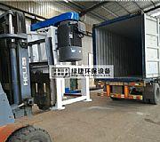 铜铝水箱分离机时产1吨生产线发往香港